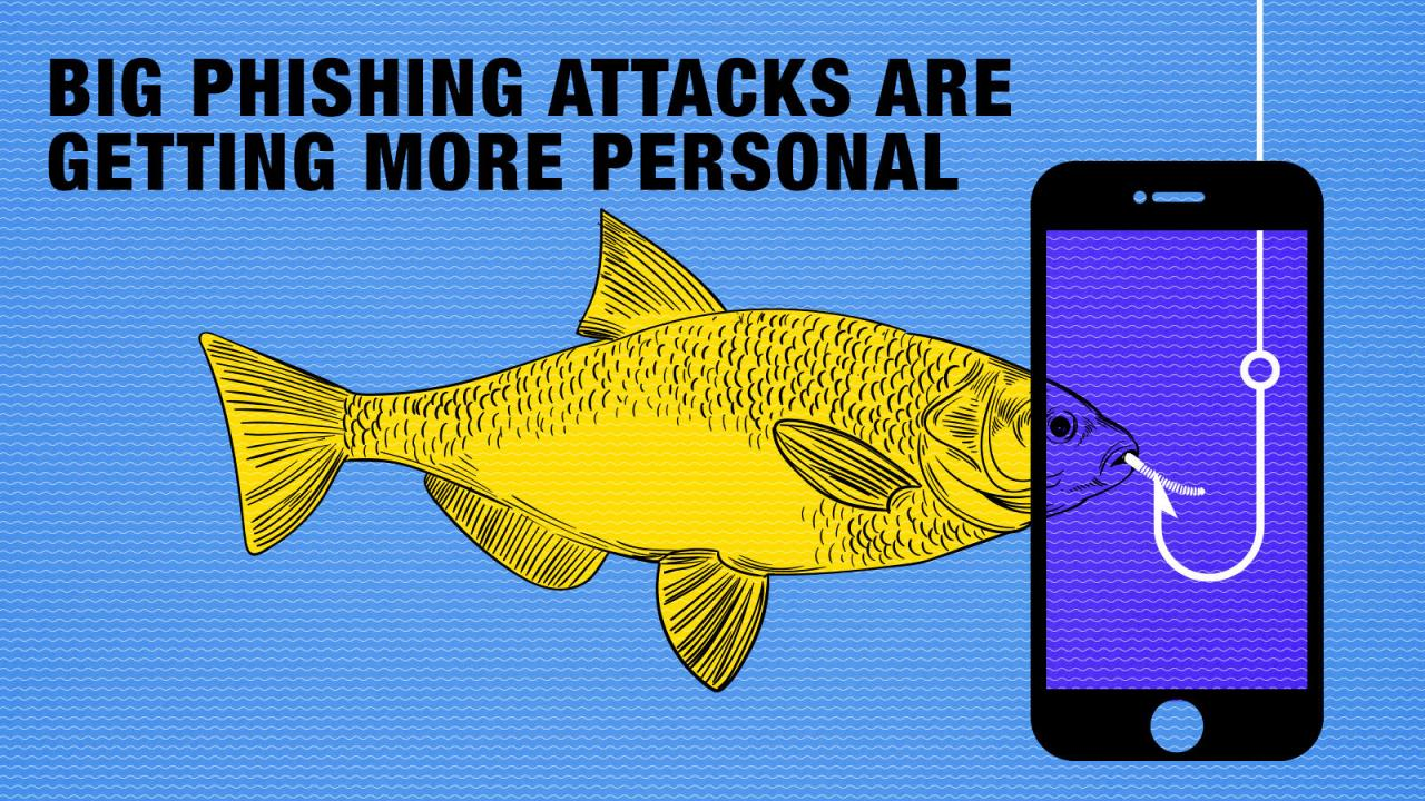 Big phishing attacks are getting more personal - Times of India