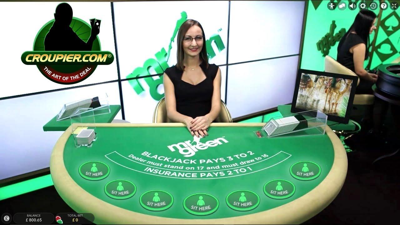 Online Blackjack for Real Money What Happens in Vegas Stays in Vegas Mr Green Online Casino - YouTube